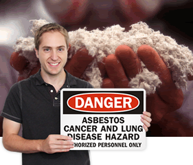 Asbestos Warning Signs | Public Health Sign