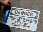 Confined Space Stencils