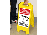 Construction Floor Signs