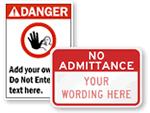 Custom Construction Signs