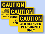 OSHA Caution Signs