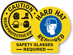 PPE Floor Signs