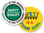 Team Safety Floor Signs