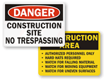 All Construction Signs