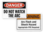 Arc Flash Signs