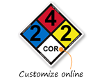 Custom NFPA Signs