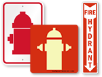 Fire Hydrant Signs