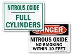 Nitrous Oxide Signs
