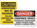 PPE & Test Required for Atmosphere