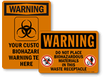 Biohazard Warning Signs