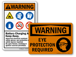 Warning PPE Signs