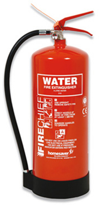 Fire Extinguisher Label Water Extinguisher