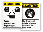 ANSI Caution Signs