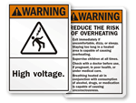 ANSI Warning Signs