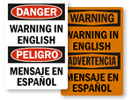 All Bilingual Signs