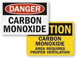 Carbon Monoxide Signs