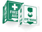 First Aid Projecting Signs