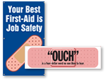 First Aid Safety Banners
