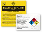 Fuel Oil Warning Labels