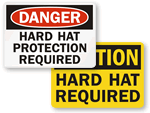 Hard Hat Signs