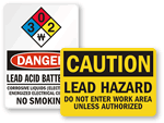 Lead Hazard Signs