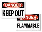 OSHA Danger Signs