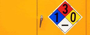 Preprinted NFPA Signs