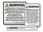 California Prop 65 Signs