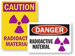 Radioactive Material Signs