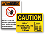 Read Manual Signs