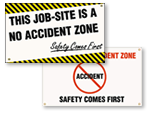 Safety First Banners