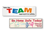 School Safety Banners