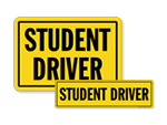 Student Driver Signs