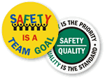 Team Floor Safety Signs
