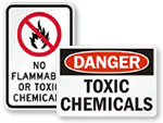 Toxic Chemicals Signs