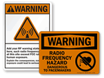 RF Warning Signs
