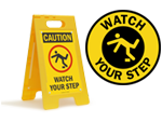 Watch Your Step Stencils