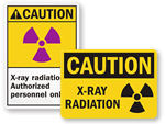 X-Ray Radiation Signs
