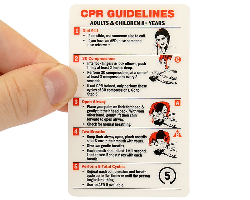 photo regarding Printable Cpr Card referred to as Cpr Recommendations Printable Wallet Dimensions 2018