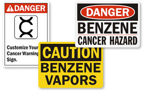 Benzene Signs