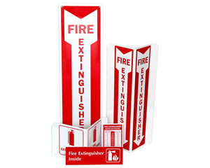 Fire Extinguisher Signs and Labels