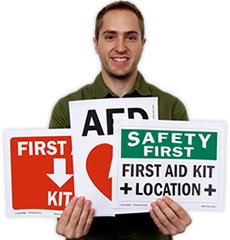 First Aid Signs - Free PDFs