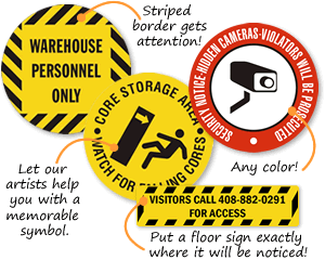Quotation for Floor Signs