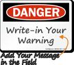 Blank Danger Signs