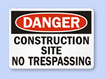 Free Construction Sign