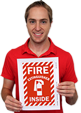 Free Fire Extinguisher Signs