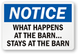 Funny Farm Signs