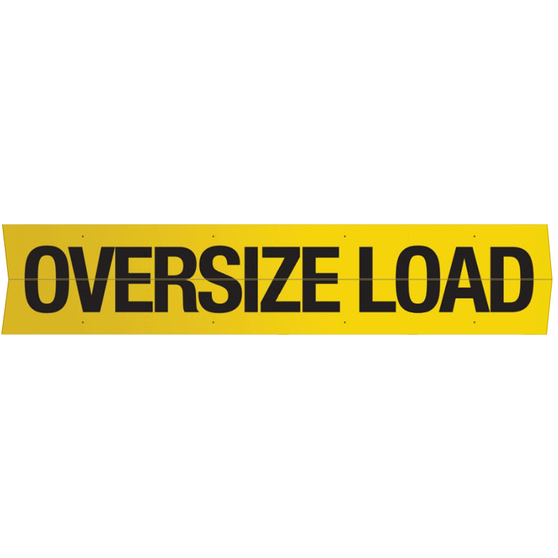 Wide Load Banners Amp Signs Mysafetysign Com