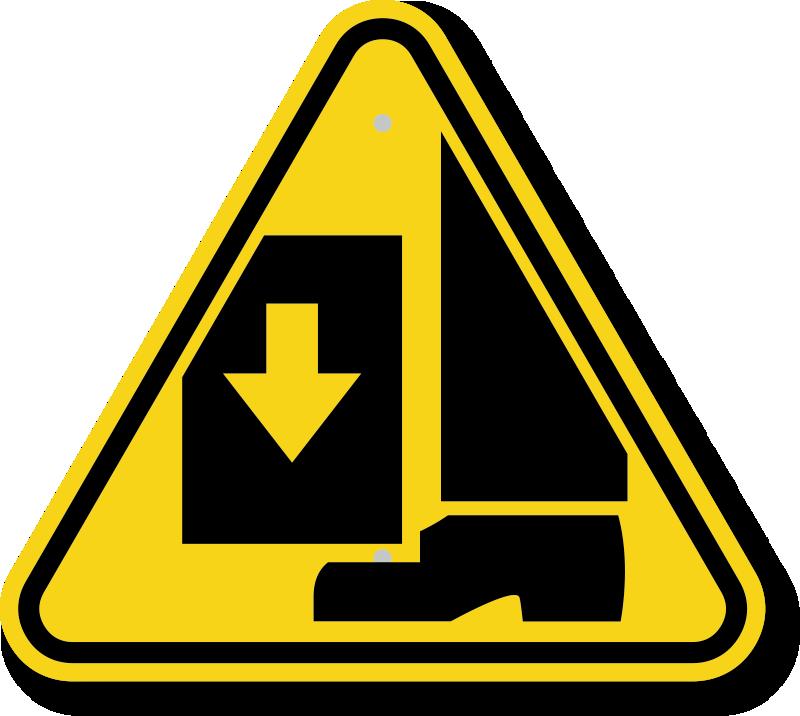 Pin Safety Hazard Symb...