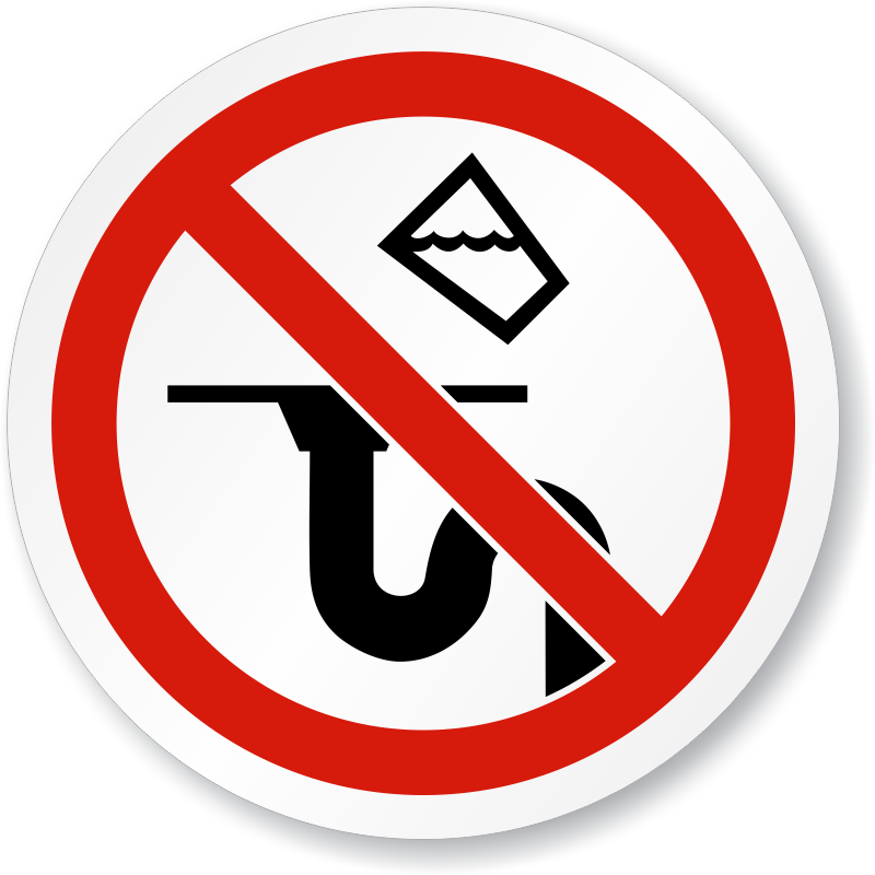 do not dispose chemicals down drain signs diamond clip art free diamond clipart png